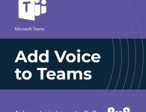 Add voice to Teams