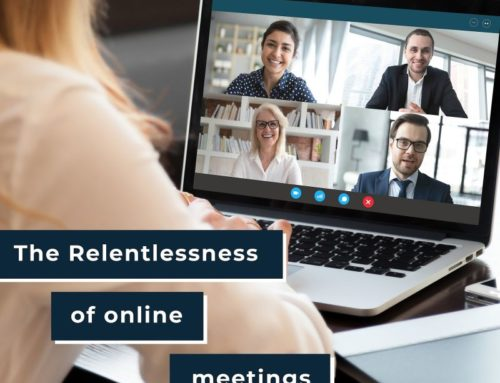 Too Many Online Meetings Can Lead To Stress