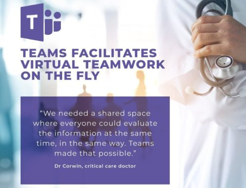 Teams Facilitates Virtual Teamwork