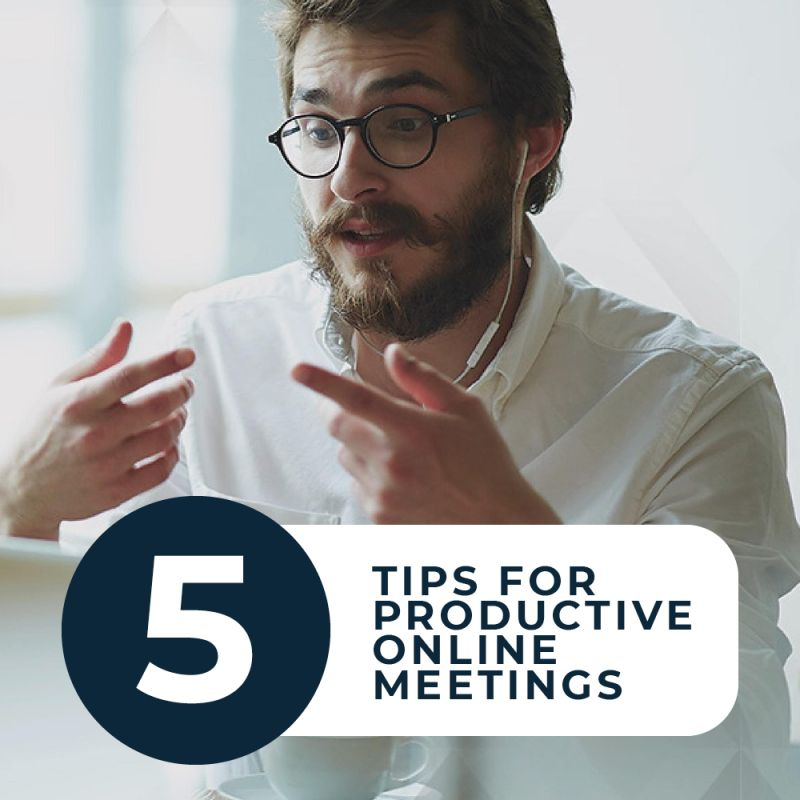 Synergy News Online Meeting Top Tips